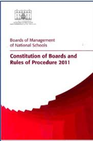 Constitution of Boards and Rules of Procedure